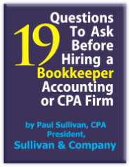 19 Questions to Ask Before Hiring a Bookkeeper, Accounting or CPA Firm
